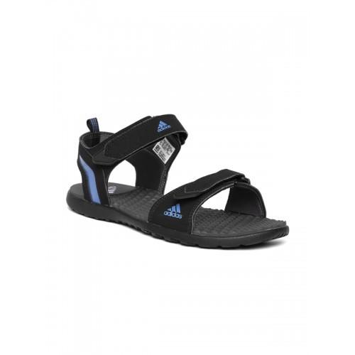 857af88c5868 Buy Adidas Men Black Mobe Sports Sandals online