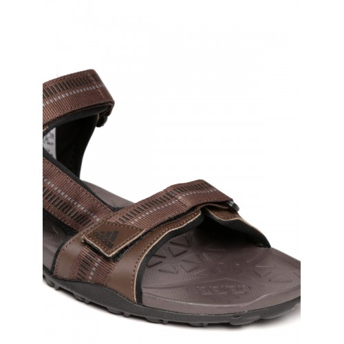 1f00f1817 Buy Adidas Men Brown Galore Path Sports Sandals online