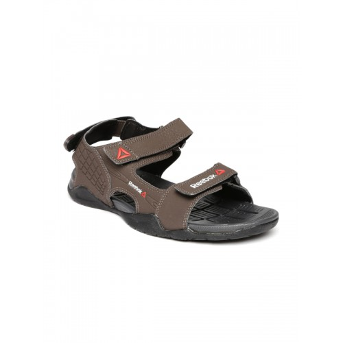 8032004345ab78 Buy Reebok Men Brown Adventure Z Supreme Sports Sandals online ...