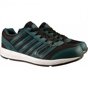 efaec49a89d2 Action Synergy Men s 7148 Black ParrotGreen Sports Running Shoes For  Men(Green)
