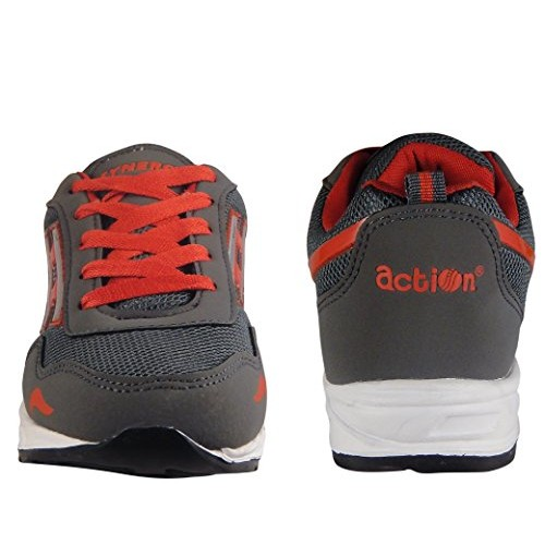 Action Synergy Men's Sports Running Shoes 7166 Black