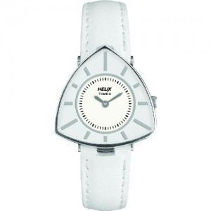 Helix Triangle Analog Silver Dial Women's Watch - 15HL00