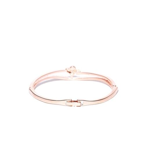 Jewels Galaxy Rose Gold Brass Bracelet