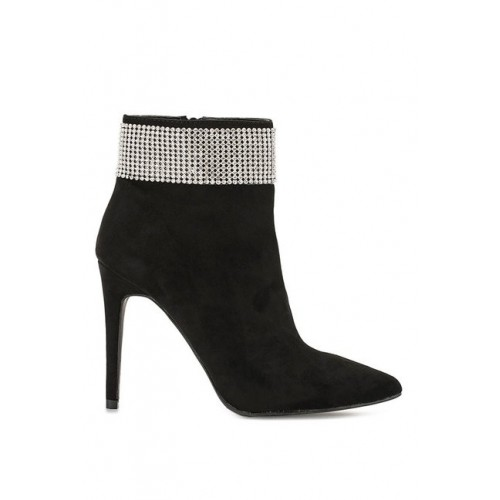 Truffle Collection Women Black Solid Boots