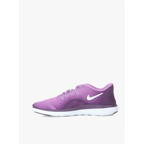 Buy Nike Flex 2017 Rn Purple Running Shoes online | Looksgud.in