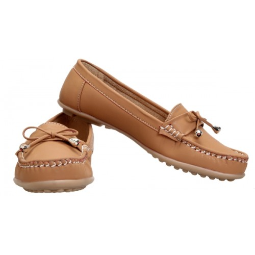 Catbird Tan Synthetic Leather Women Loafers