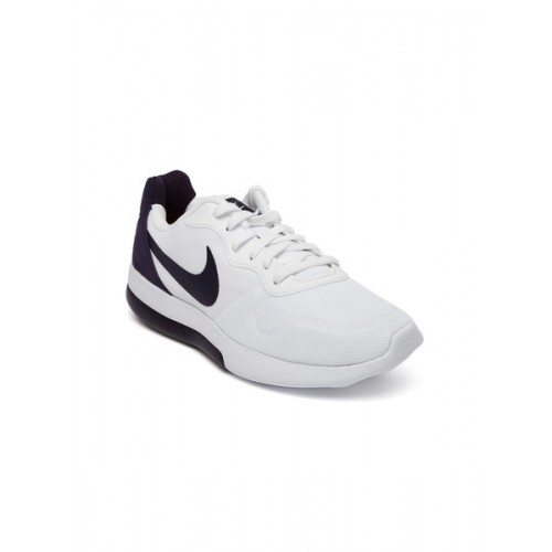 promo code 02565 69d25 ... Nike White   Purple Colourblocked MD Runner 2 LW Sneakers ...