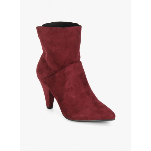 Dorothy Perkins Adela Maroon Ankle Length Boots latest collections sast online discount clearance fashion Style cheap online ntflo8