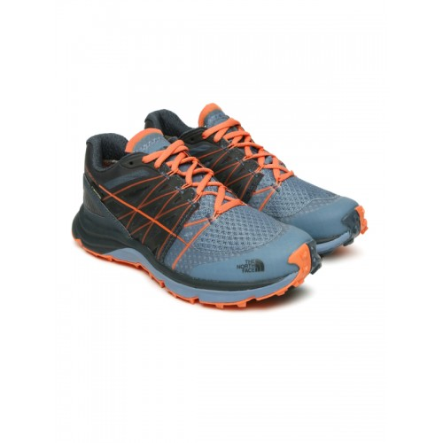 The North Face Women Blue W Ultra Vertical GTX Running Shoes
