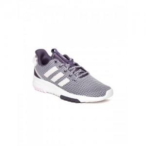 5f3aa9b7ad17d Adidas Women Purple & Off-White CF Racer Running Shoes. ₹5599 Myntra. Vans  Peach Canvas Men Sneakers