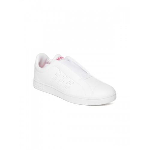 386155da6156 Buy Adidas Women White Advantage Adapt Tennis Shoes online ...