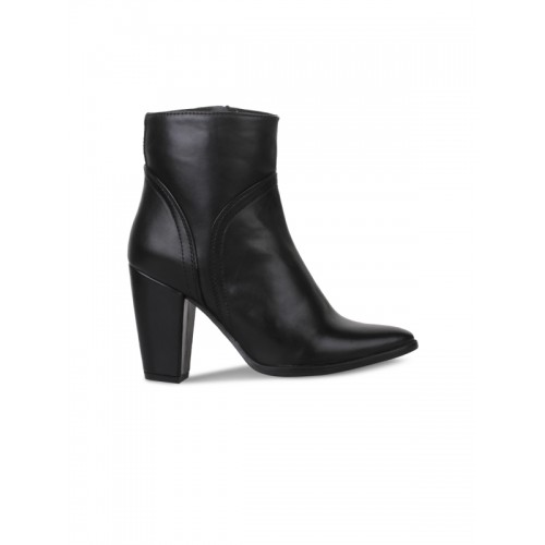Buy Bruno Manetti Women Black Solid