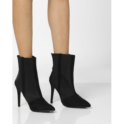 47a5fc55055 Buy Truffle collection Knitted Ankle-Length Boots online