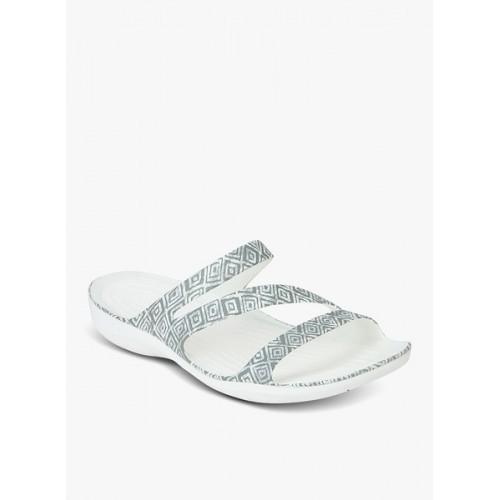 3bd0aa31d3f0 Buy Crocs Swiftwater Graphic Grey Flip Flops online