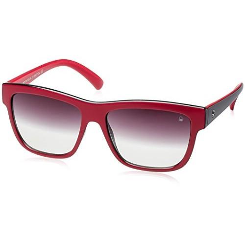 f3507904aa ... United Colors Of Benetton Gradient Wayfarer Unisex Sunglasses  (BES888I14SG 56 Grey Gradient lens) ...