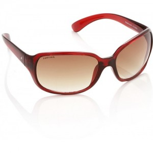Fastrack Brown Stylist Over-sized Sunglasses