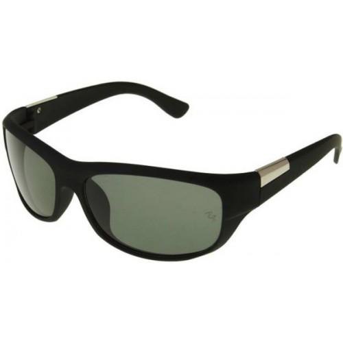 Backley Green Aviator Sunglasses
