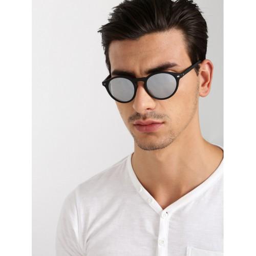 286e3089a Buy Calvin Klein Jeans Unisex Round Sunglasses 747 002 S online ...