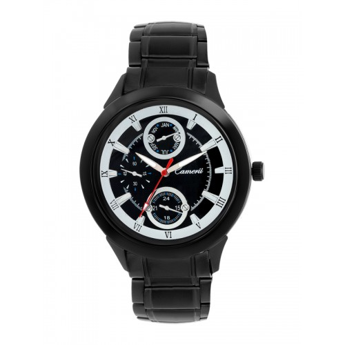 Camerii Black/Black Metal Analog Watch
