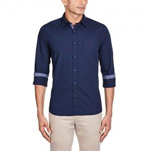Pepe Jeans Blue Men's Casual Shirt