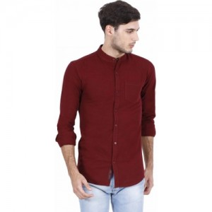 04d123152 Buy United Colors of Benetton Men Solid Casual Brown Shirt online ...