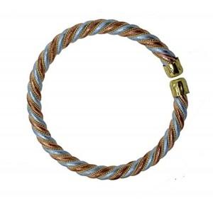 Panch Dhatu bracelet or kada for Men or women aproximatly 0.75 cm thick