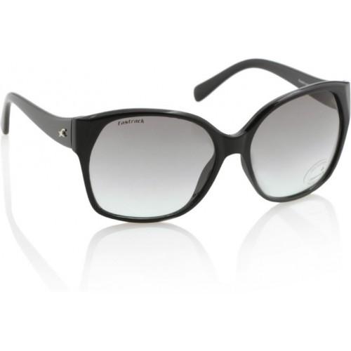 14b60ef66b3 Buy Fastrack Grey UV Protection Over-sized Women Sunglasses ...