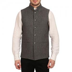 Wintage Tweed Bandhgala Festive Nehru Jacket Waistcoat