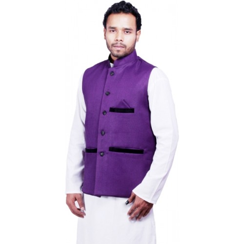 DEPLO Sleeveless Solid Men's Jacket