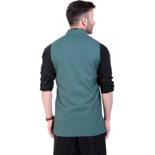 VANDNAM FABRICS Sleeveless Solid Men Jacket