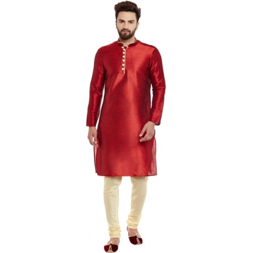 Larwa Men's Kurta and Churidar Set