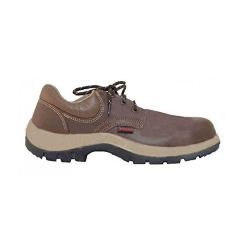f784522c87dc4 Buy Karam FS61 Executive Safety Shoes, Brown, Size 8 online ...