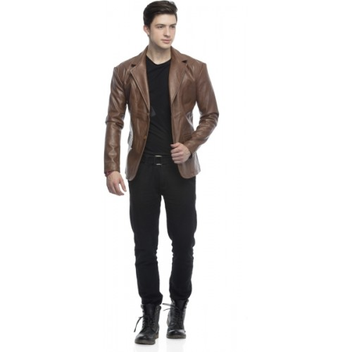 Emblazon Solid Single Breasted Casual Men's Blazer