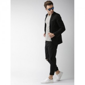 Mast & Harbour Black Casual Blazer