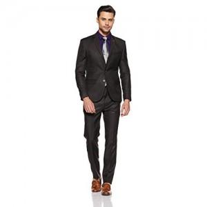 Next Look Men's Notch Lapel Slim Fit Suit