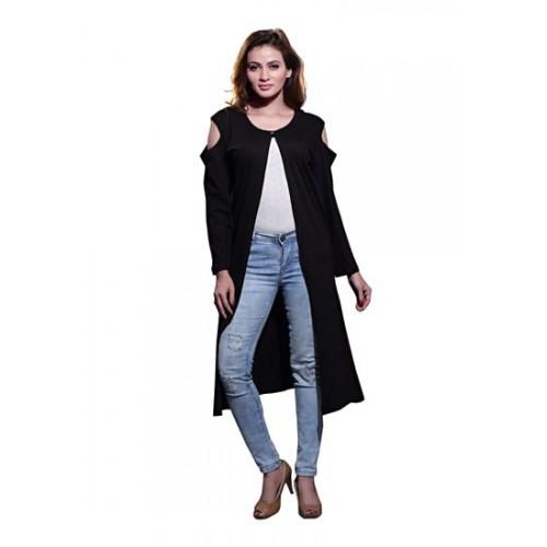 ... BFLY Bfly Women s Viscose Cold-Shoulder Long Shrug (Black) ... 45f510545