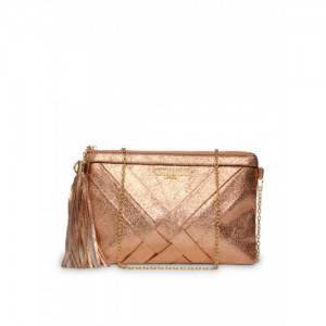 Carlton London Gold-Toned Solid Clutch