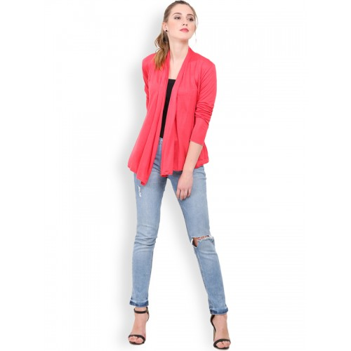 Trend Arrest Coral Red Shrug