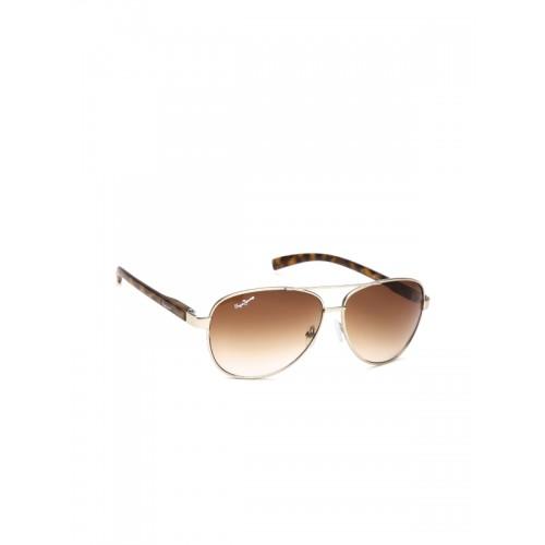 4263a6d9f6f Buy Pepe Jeans Unisex Aviator Sunglasses PJ5112C2 online