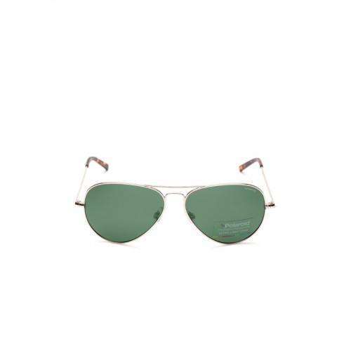 Buy Polaroid Unisex Polarised Aviator Sunglasses PLD 1017 S 3YG 60H8 ... 01b3a1a3986
