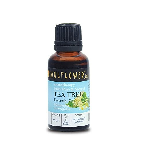 Soulflower Tea Tree Essential Oil, 30ml