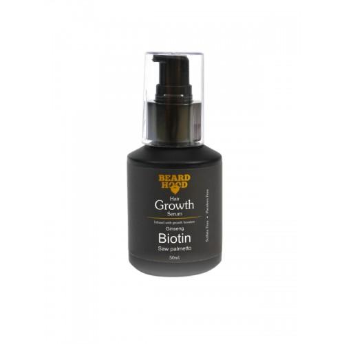 Beardhood Beard & Hair Growth Serum with Biotin & Ginseng 50 ml