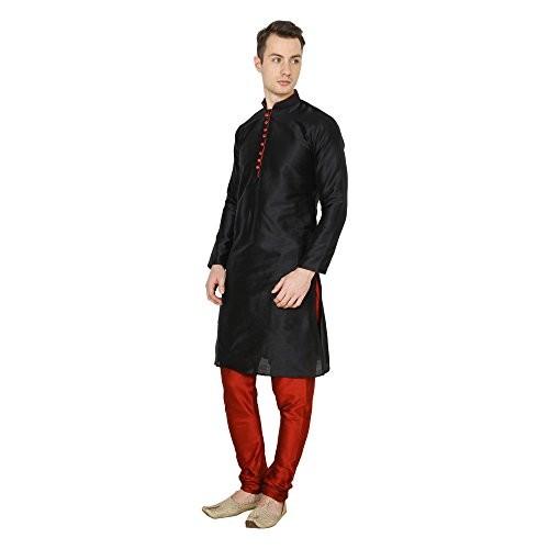 Buy Royal Kurta Silk Blend Kurta Pyjama Set For Men online  f74d3ea37