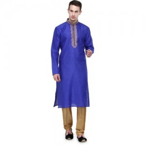 RG Designers Men's Kurta and Churidar Set