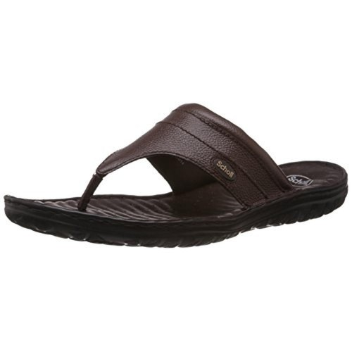 ee041b49e Buy Dr.Scholl Men s Leather Hawaii Thong chappal online