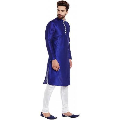4aac4da750 Buy Larwa Men'S Ceremony Kurta Pyjama Set With Button online ...