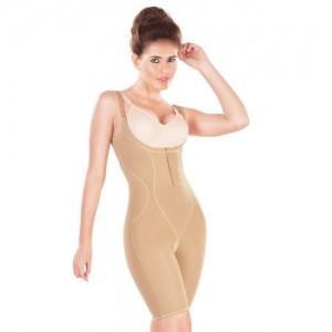Dermawear Skin Slimmer Short Length Bodysuit with Underbust