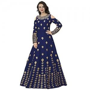 Siddeshwary Fab Blue Anarkali Gown