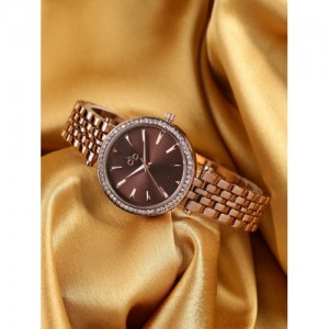DressBerry Copper-Toned Analogue Watch MFB-PN-SNT-C30-1