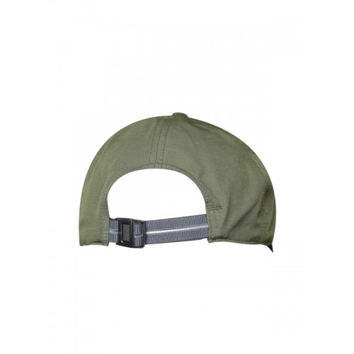 6d7fb5df106 Buy Adidas Unisex Olive Green 6 Panel 3 Stripes ClimaLite Solid Cap ...